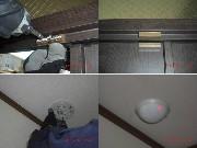 室内に設置するホームセキュリティの写真