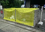 ゴミネットを設置したマンションのゴミ置き場のイメージ写真